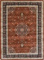Klasický kusový koberec Anatolia 5858-V hnědý