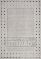 Kusový koberec buklé Floorlux Silver/black 20329