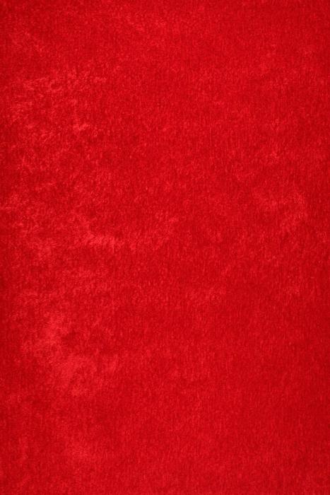 JUTEX MELBOURNE SHAGGY červená