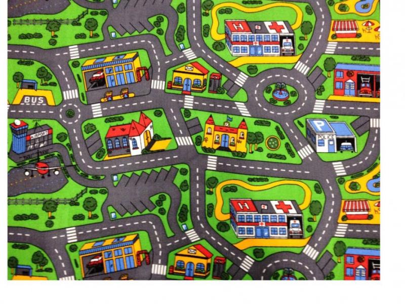 City Life dětský zelený