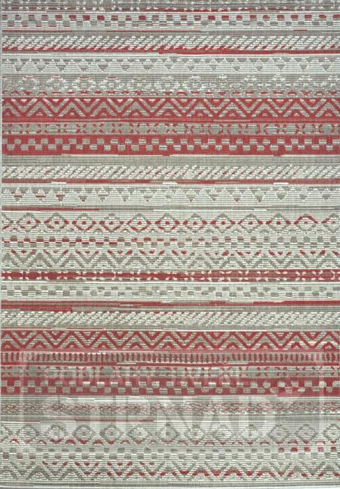 Kusový koberec buklé Star red outdoor 19112-85