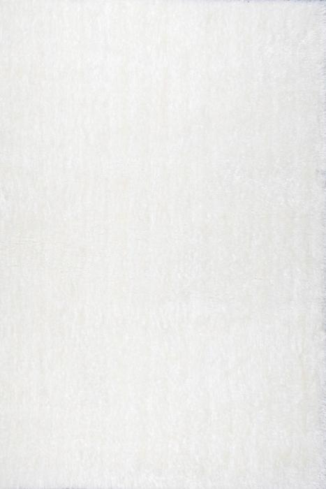 JUTEX BORNEO SHAGGY bílá